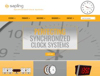 sapling-inc.com screenshot