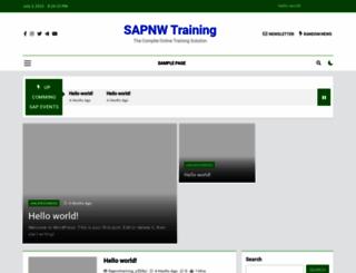 sapnwtraining.com screenshot