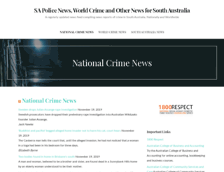 sapolicenews.com.au screenshot