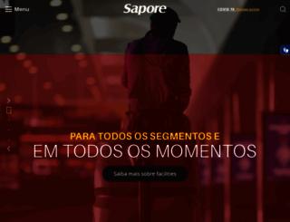 sapore.com.br screenshot