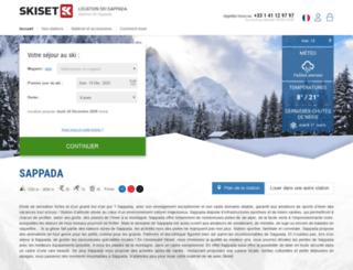 sappada.skiset.com screenshot