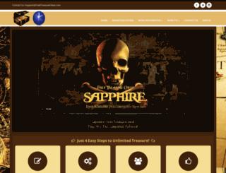 sapphire.freetreasurechest.com screenshot