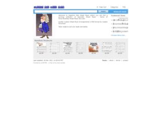 sapphiremistsheetmusic.ecrater.com screenshot