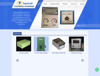saptarshielectronics.co.in screenshot