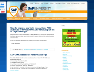 sapuniversity.eu screenshot