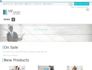 sapxpert.com screenshot