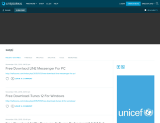 saqqi.livejournal.com screenshot