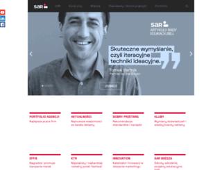 sar.org.pl screenshot