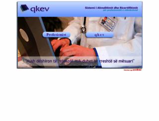 sara.qkev.gov.al screenshot