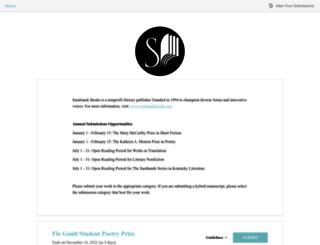 sarabandebooks.submittable.com screenshot