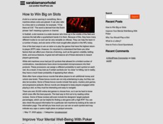 sarabiamanorhotel.com screenshot