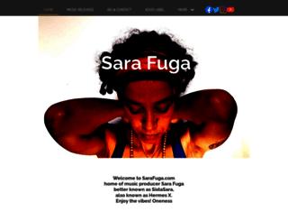 sarafuga.com screenshot