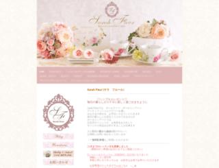sarah-fleur.com screenshot