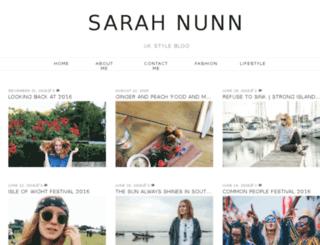 sarah-nunn.blogspot.co.uk screenshot