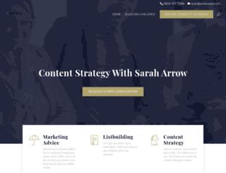 saraharrow.co.uk screenshot