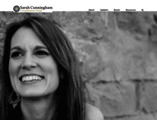 sarahcunningham.org screenshot