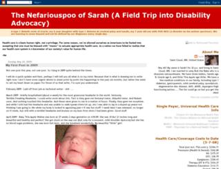 sarahdiabeticmusings.blogspot.com screenshot