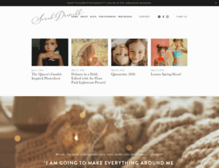 sarahdriscoll.com screenshot