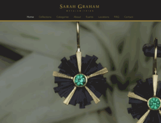 sarahgraham.com screenshot