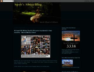 sarahmaidofalbion.blogspot.com.es screenshot