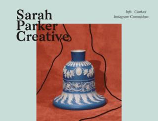 sarahparkercreative.com screenshot
