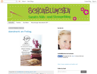 sarahs-naehlaune.blogspot.com screenshot
