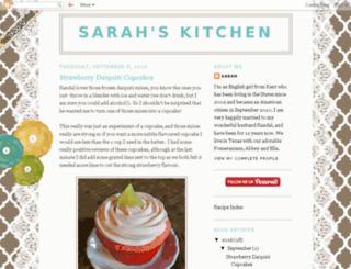 sarahsbritamericankitchen.blogspot.com screenshot