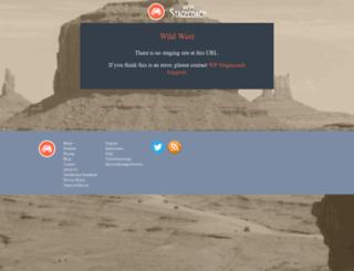 sarahshere.wpstagecoach.com screenshot
