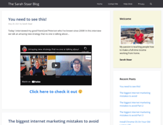 sarahstaar.com screenshot