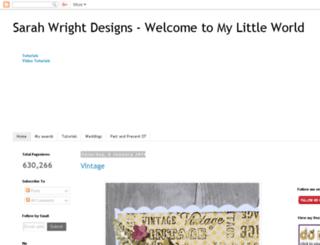 sarahwrightdesigns.blogspot.com.br screenshot
