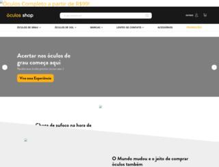 saraiva.oculosshop.com.br screenshot
