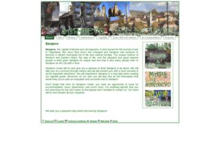 sarajevo-guide.com screenshot