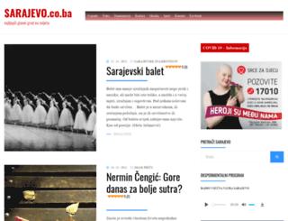 sarajevo.co.ba screenshot
