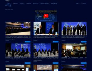 sarajevobusinessforum.com screenshot
