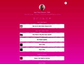 saramariebrenner.com screenshot