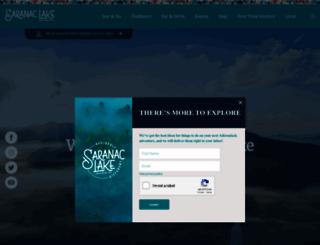 saranaclake.com screenshot