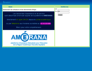 sarapis.ac-bordeaux.fr screenshot