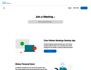saras.webex.com screenshot