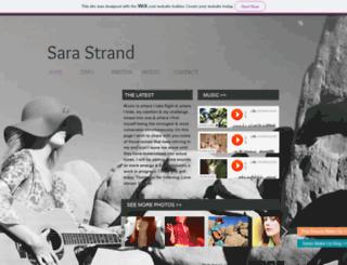 sarastrand.com screenshot