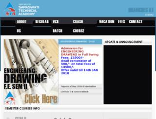 saraswatitech.com screenshot