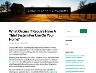 sarathibankingacademy.com screenshot
