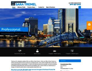 saratremellaw.com screenshot