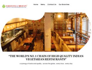 saravanaabhavan.de screenshot