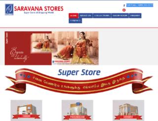 saravanastores.net screenshot