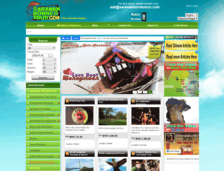sarawakborneotour.com screenshot