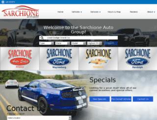 sarchione.com screenshot
