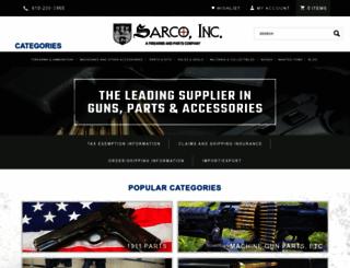 sarcoinc.com screenshot