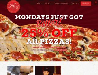 sardellaspizza.com screenshot