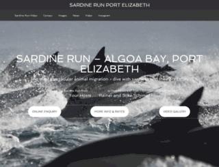 sardinerunpe.co.za screenshot