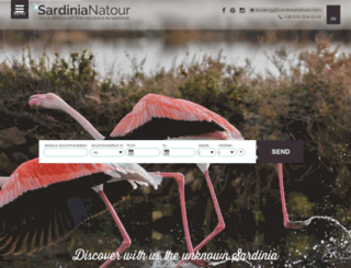 sardinianatour.com screenshot